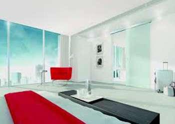 Das System Muto ersetzt die Dorma Agile Glasschiebebeschlagserie