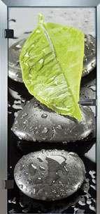 Farbdrucktüren Loft Glastüren Modell 9026 Pleasure