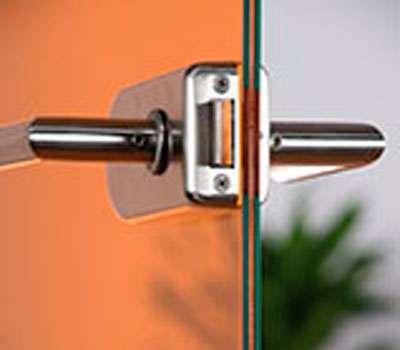Glastüren Verbundglas VSG mit Folie - Loft Motiv