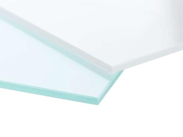 Glastüren Pure White Weißglas Serie G - www.ganzglastuere.de