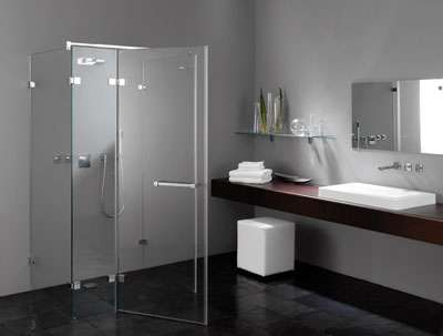 Glasduschen Duschsystem aus Glas