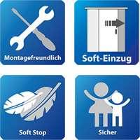 Die Vorteile des Schiebetürsystems LSD 8 Variant mit Softclose für Glasschiebetüren und Holzschiebetüren von Piktura Loft
