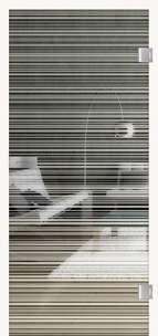 Glastüren Digitaldruck VSG Prime Modell Achat Vertical 574 Weißglas Pure White Serie G - www.ganzglastuere.de