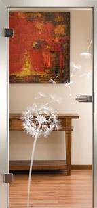 Glastür Loft 3240 Blowball II Sandstrahlung