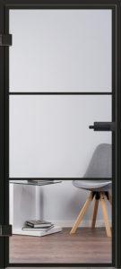 Glastür Industrial Design Modell 9520