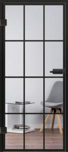 Glastür Modell 9532 Industrial Design