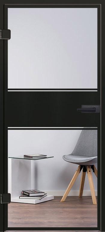 Industrialdesign Glastür Modell 9599