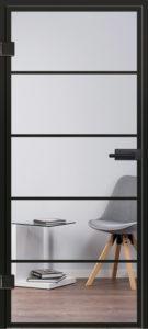 Glastür Industrialdesign Modell 9540