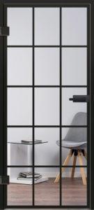 Glastür Modell 9542 Industrialdesign