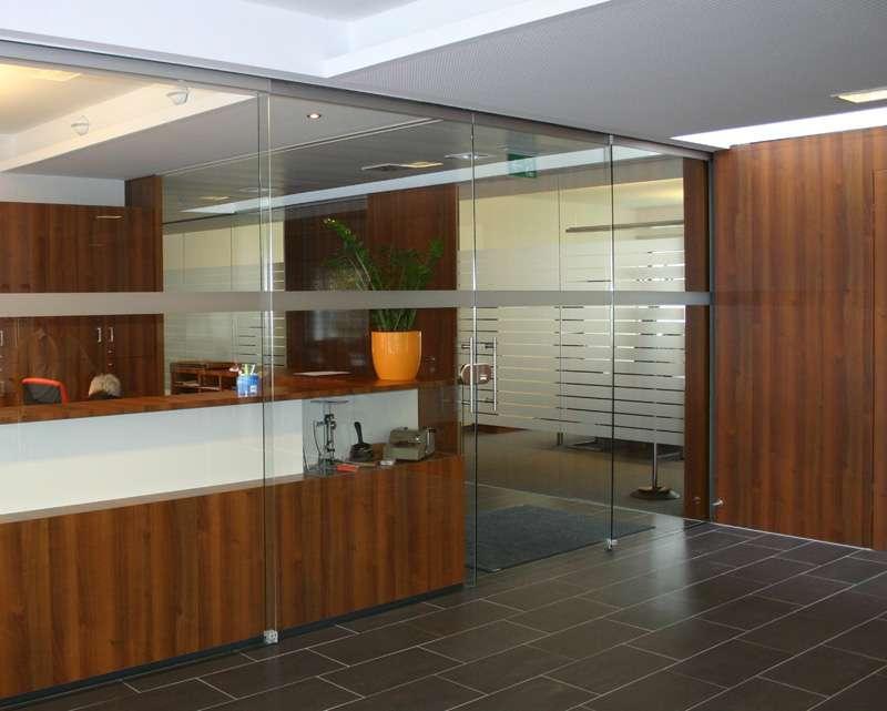 Konstruktive Sicherheit der Glastüren