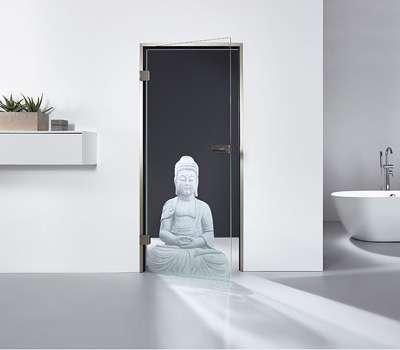 Glastüren Lasertechnik MAME Home Style Selection Motiv